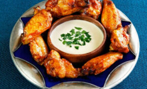 Spicy Middle Eastern Chicken Wings With Tahini Sauce Recipe – Middle Eastern Recipes Chicken