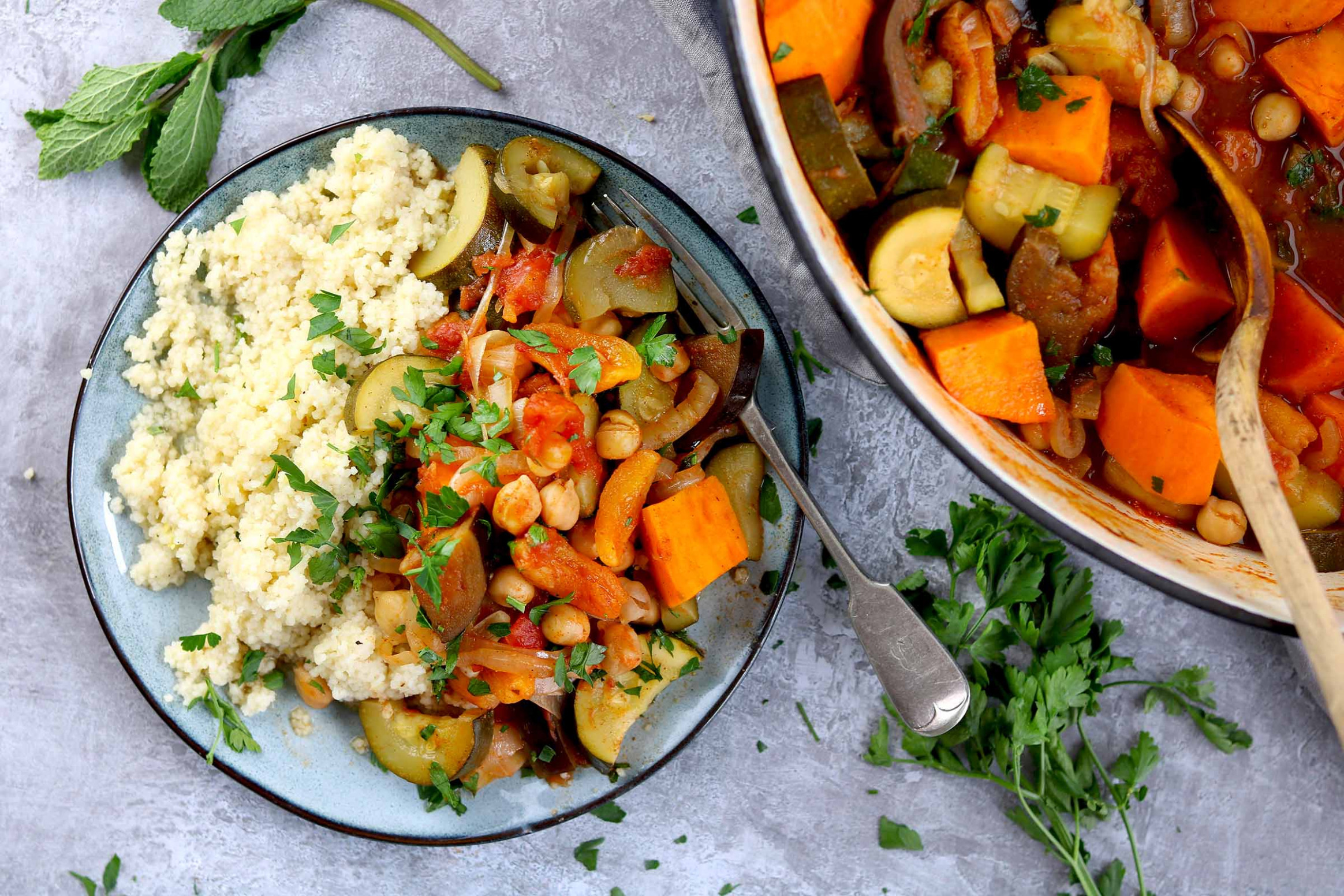 Spicy Moroccan Vegetable Tagine - The Last Food Blog - recipes vegetarian tagine
