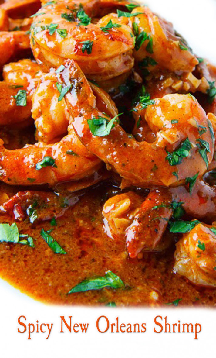Spicy New Orleans Shrimp Recipe - recipes new orleans food