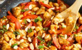 Spicy Peanut Chicken – Quick And Easy Chicken Dinner With ..