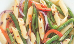 Spicy Penne Pasta With Green Beans – Recipes Green Peppers Vegetarian