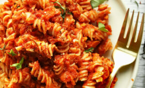 Spicy Red Pasta With Lentils – Recipes Pasta Sauce Healthy