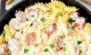 Spicy Sausage Alfredo Recipe – Quick Recipes Dinner For Two