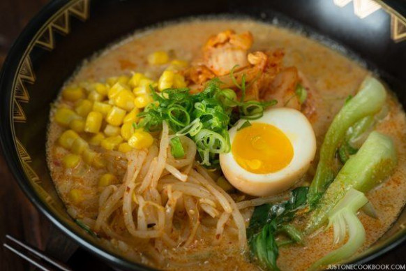 Spicy Shoyu Ramen スパイシー醤油ラメーン • Just One Cookbook - ramen recipes vegetarian