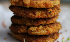 Spicy Split Pea Patties, Vegan Recipe, Minimal Ingredients ..