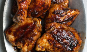 Spicy Sweet And Sour Grilled Chicken Recipe | Epicurious