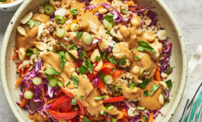 Spicy Thai Chicken And Brown Rice Bowls – Vegetarian Rice Bowl Recipes