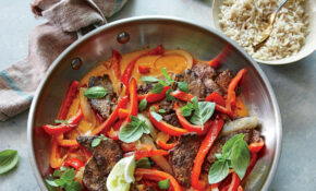 Spicy Thai Red Curry Beef – Recipe Vegetarian Red Curry