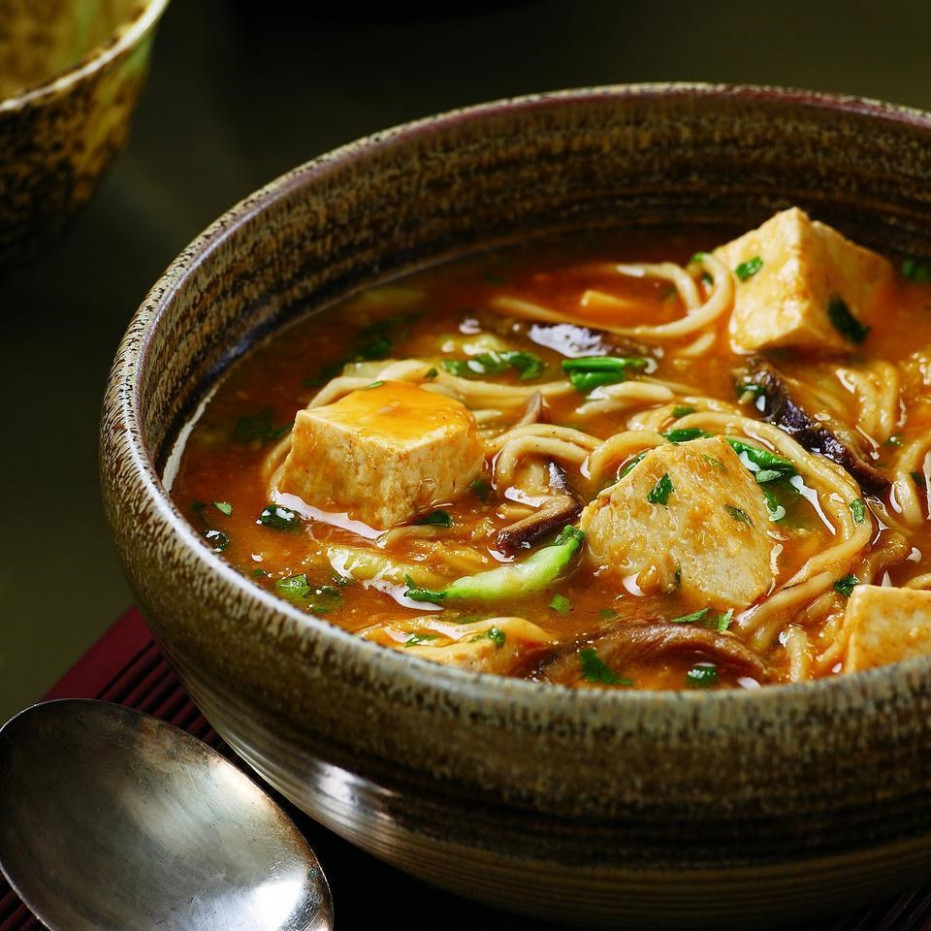 Spicy Tofu Hotpot Recipe - EatingWell - Recipe Vegetarian Hot Pot