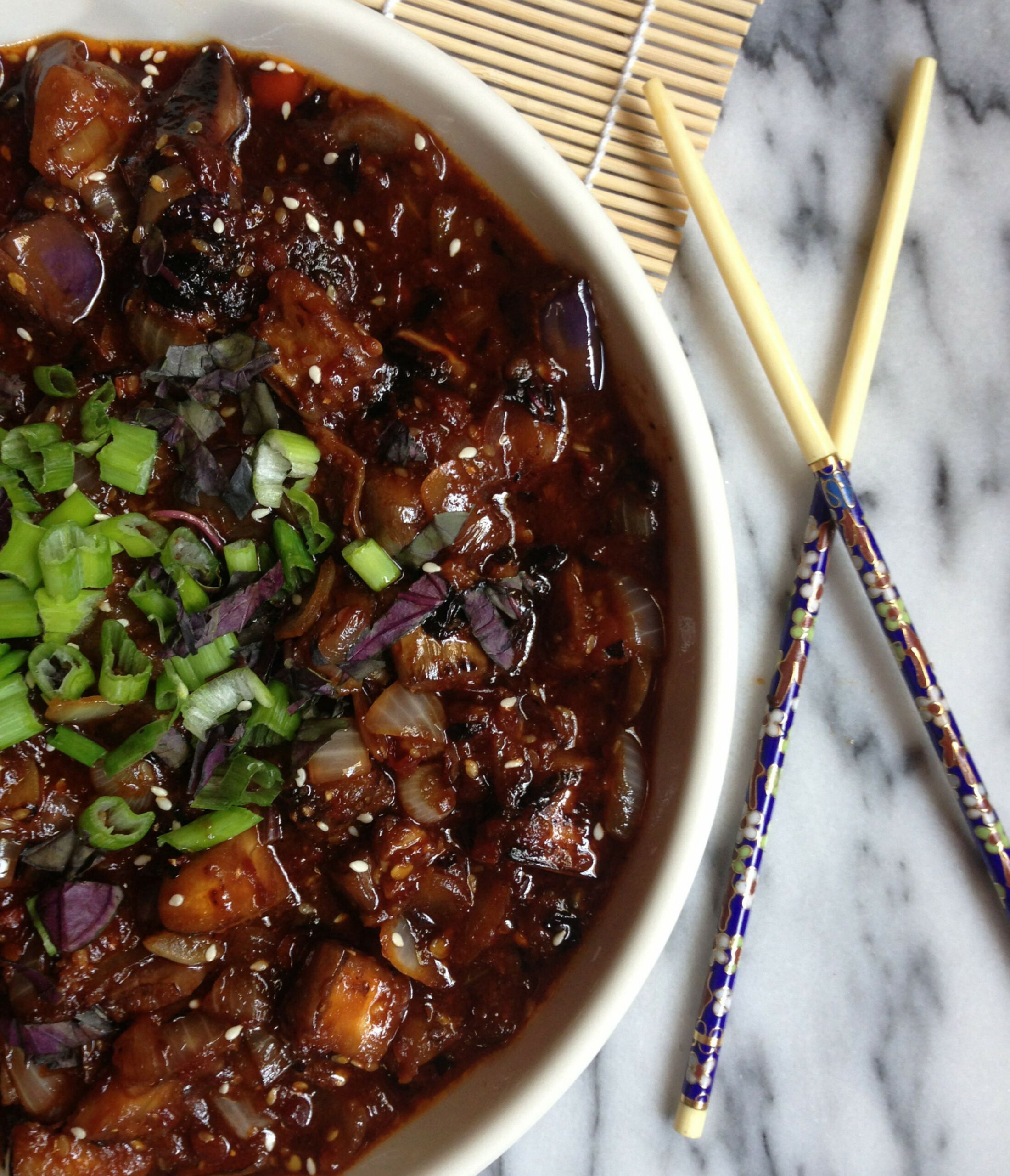 Spicy Vegan Chinese Eggplant | FOOD | Chinese eggplant ..