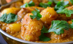 Spicy Vegan Potato Curry (Dum Aloo) | Cilantro And Citronella – Recipes Indian Food