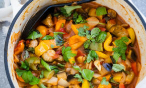 SPICY VEGAN RATATOUILLE RECIPE