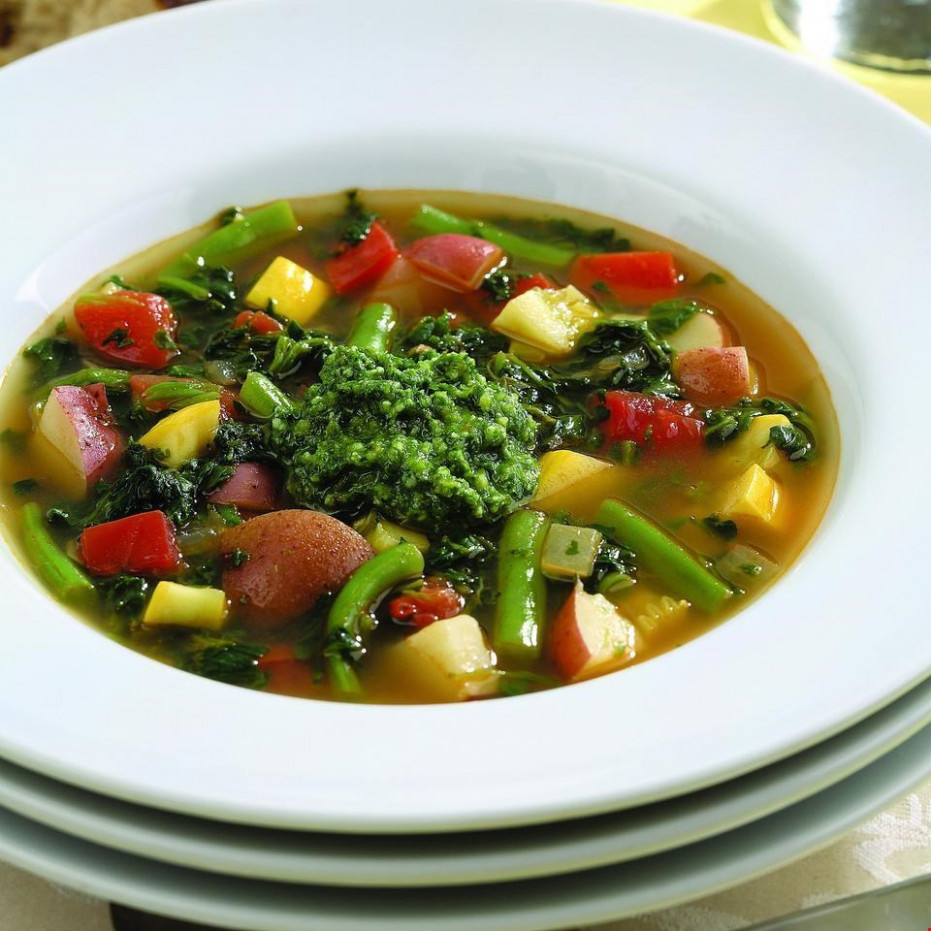 Spicy Vegetable Soup Recipe - EatingWell - Recipes Vegetarian Soup