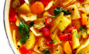 Spicy Vegetarian Cabbage Soup