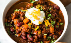 Spicy Vegetarian Chili – Recipes Healthy Vegetarian