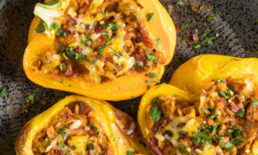 Spicy Vegetarian Stuffed Peppers – Recipe – Chili Pepper ..
