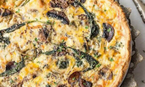 Spinach And Mushroom Quiche – Vegetable Quiche | Low Carb ..