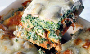 Spinach And Mushroom Vegetarian Lasagna – Recipes Lasagna Vegetarian