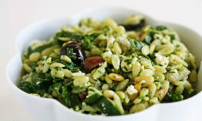 Spinach And Orzo Salad – Orzo Recipes Vegetarian