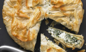 Spinach And Ricotta Filo Pie – Recipes Vegetarian Pies