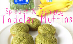 Spinach + Banana Healthy Breakfast Muffins Recipe For Toddlers – Recipes Muffins Healthy
