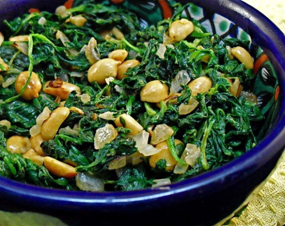 Spinach - Mchicha) - East African Recipe - Food