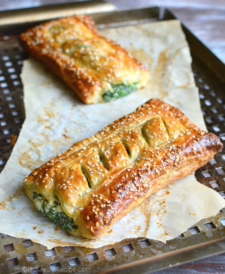 Spinach Puff Pastry Rolls with Feta and Ricotta | Picture ..