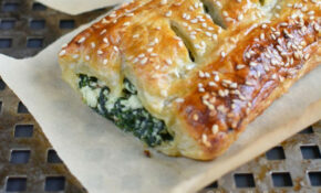 Spinach Puff Pastry Rolls With Feta And Ricotta – Recipes With Puff Pastry For Dinner