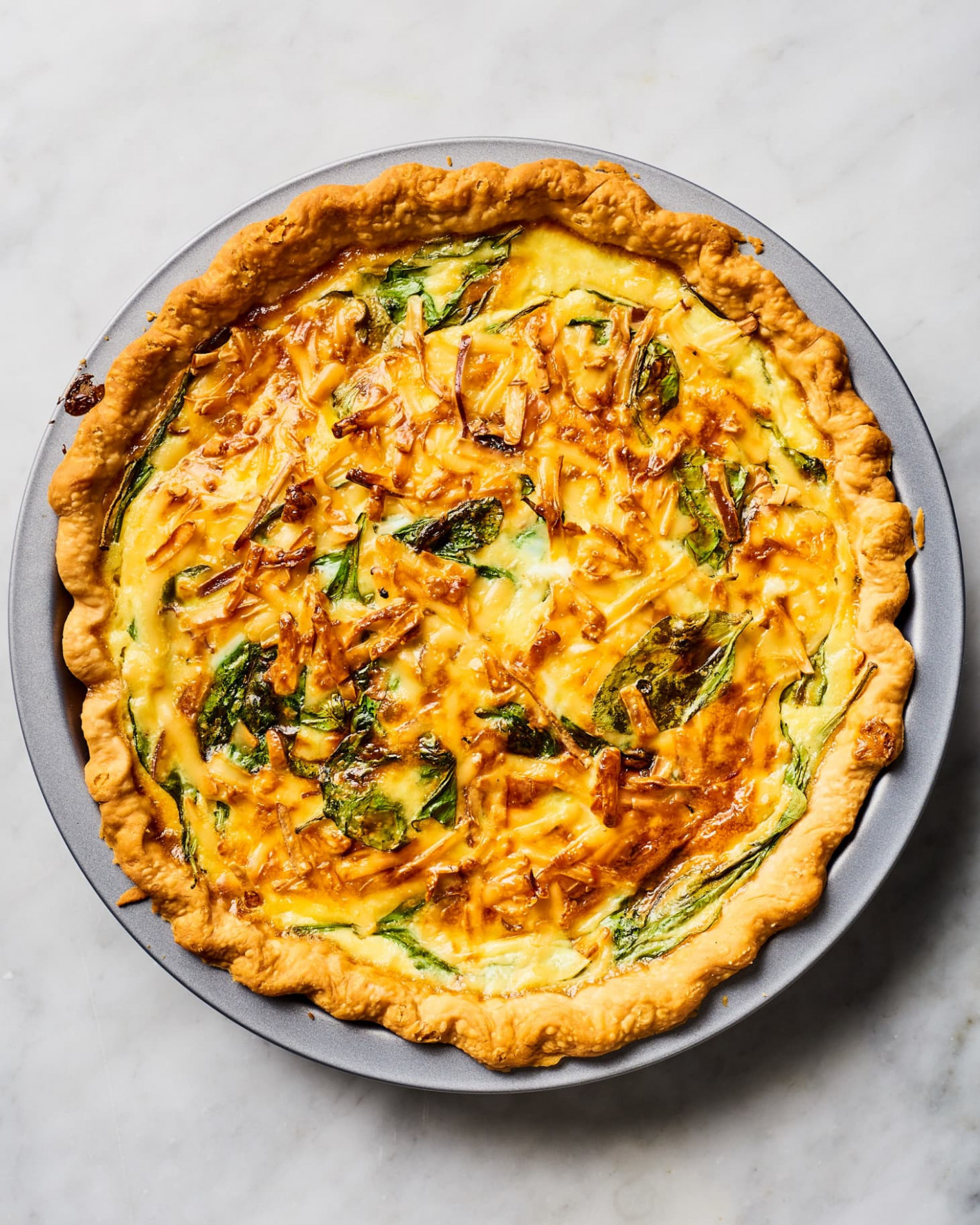 Spinach Quiche Recipe - recipe vegetarian quiche spinach