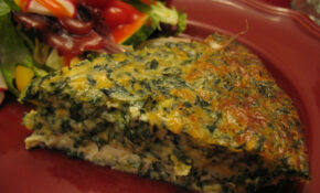 Spinach Quiche – Recipe Vegetarian Quiche Spinach