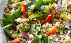 Spinach Quinoa Salad – Healthy Recipes Quinoa Salad