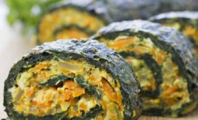 Spinach Rolls – Spinach Recipes Vegetarian