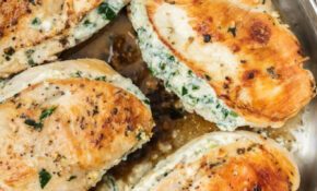 Spinach Stuffed Chicken Breast Recipe – Easy Chicken ..