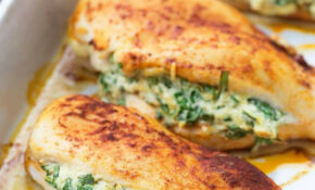 Spinach Stuffed Chicken Breasts – A Healthy Low Carb Dinner ..