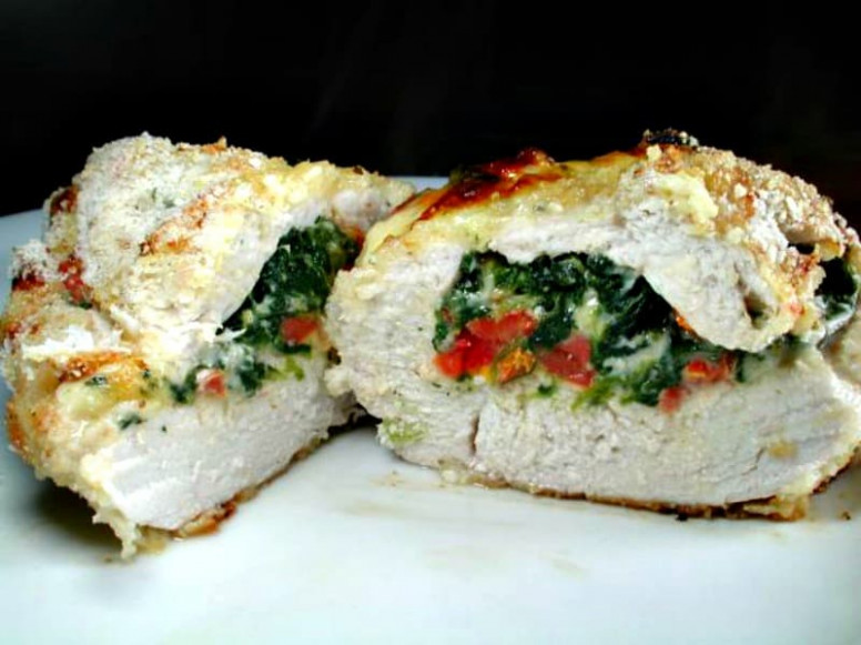 Spinach Stuffed Chicken Breasts Recipe - Recipes & Me - chicken recipes that freeze well