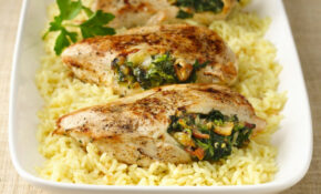 Spinach Stuffed Chicken Breasts Recipe – Recipes With Shredded Chicken