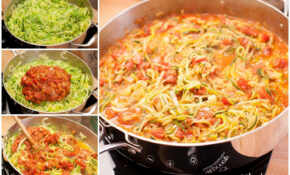 "Spiralized Zucchini With Fresh Spaghetti Sauce – Paleo ""Noodles"" – Zucchini Noodle Recipes Vegetarian"