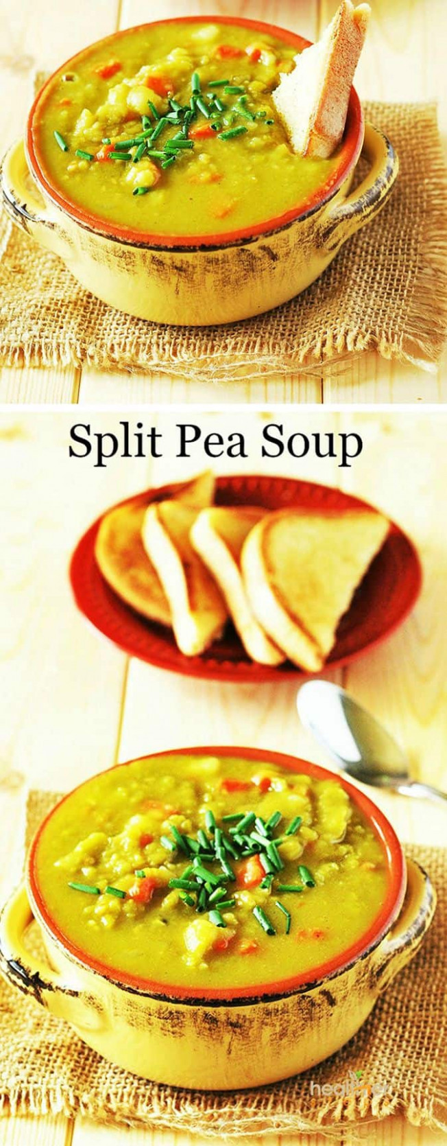 Split Pea Soup (Vegan) | Healthier Steps - green split pea recipes vegetarian