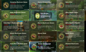 SPOILERS] Breath Of The Wild – Here's Every … – Reddit – Legend Of Zelda Breath Of The Wild Food Recipes