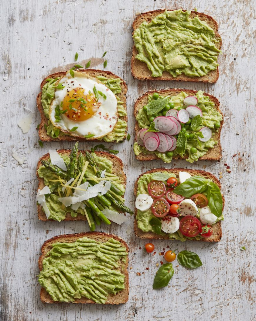 Spring Avocado Toast (13 Ways) - Avocado Recipes Vegetarian