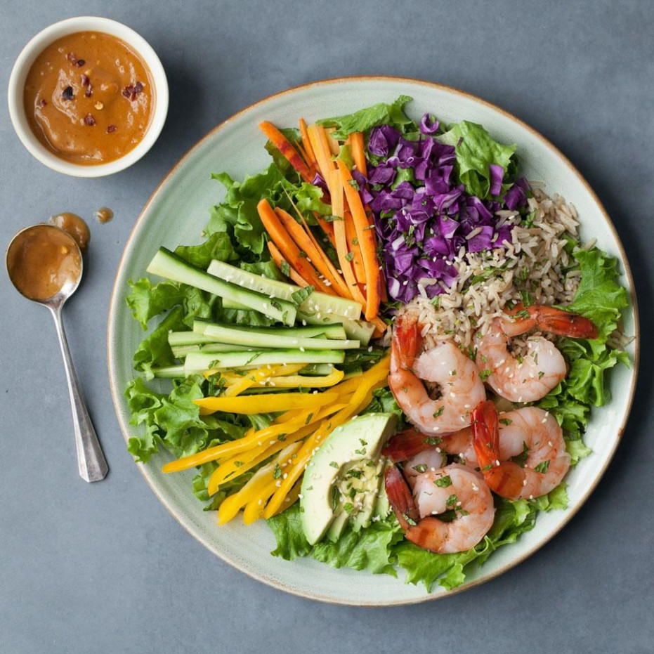 Spring Roll Salad Recipe - EatingWell - Healthy Recipes At Home
