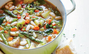 Spring Vegetable Soup Recipe | MyRecipes – Recipes Of Vegetarian Soups