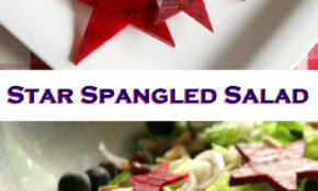 Star Spangled Salad – Healthy Fourth Of July Recipes