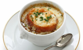 Starter Recipe: Perfect French Onion Soup – 12 Tomatoes – Recipe Vegetarian French Onion Soup