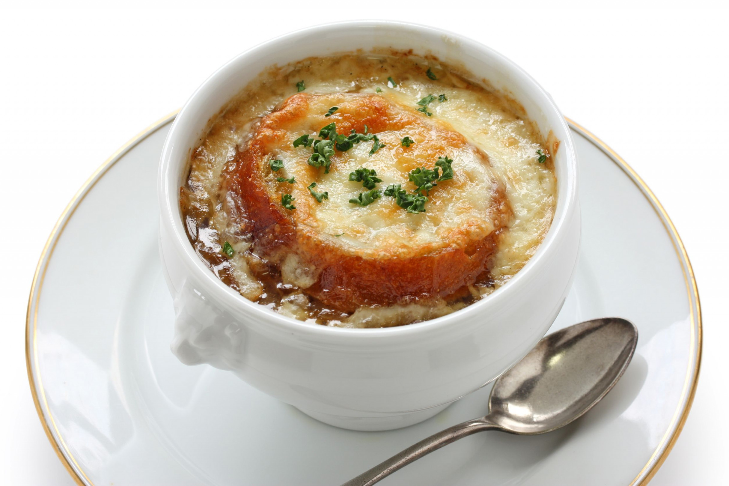 Starter Recipe: Perfect French Onion Soup - 12 Tomatoes - recipe vegetarian french onion soup