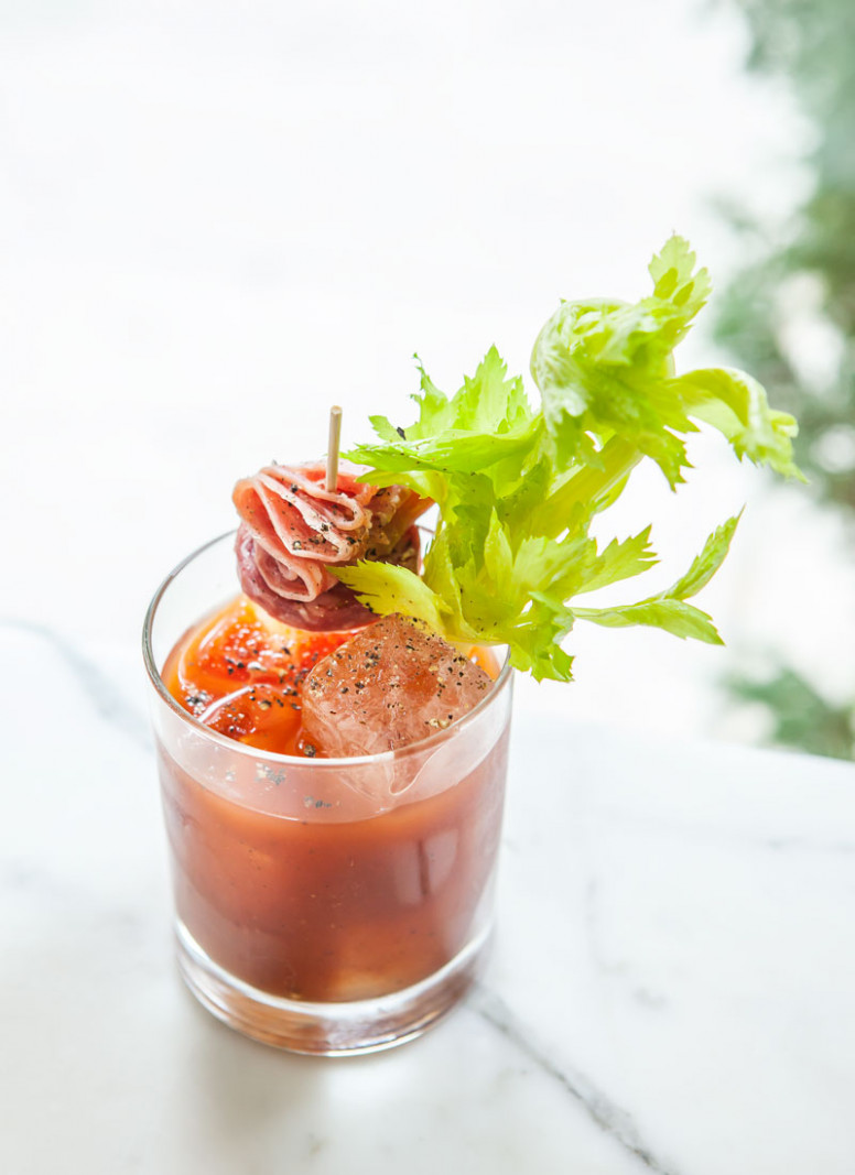 State Street Bloody Mary - food recipes using bloody mary mix