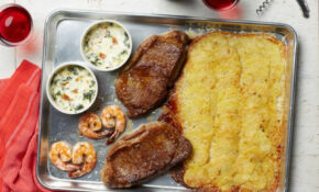 Steakhouse Sheet Pan Dinner For Two Recipe | Food Network ..