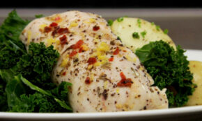 Steamed Lemon Garlic Chicken With Thyme – Recipes Garlic Chicken