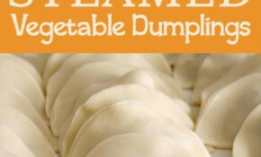 Steamed Vegetable Dumplings – Recipe Vegetarian Dumplings Chinese