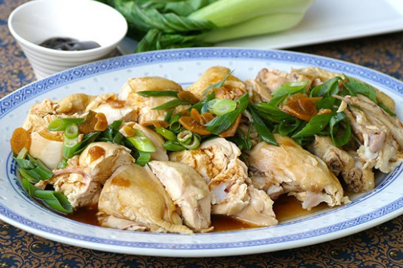 Steamed whole chicken with ginger sauce - Recipes - Eat ...